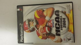 PLAYSTATION 2 NCAA FOOTBALL 2004 in Fort Leonard Wood, Missouri