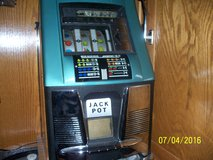 Slot Machine by Mills, 25 cents, antique, 1955 in Alamogordo, New Mexico