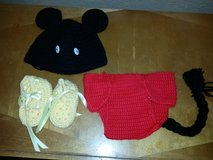Mickey Mouse Crochet 3 piece in Travis AFB, California