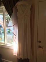 White Wedding Dress in Camp Pendleton, California