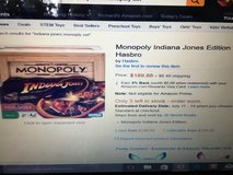 Indiana Jones Monopoly Game in Fort Bliss, Texas