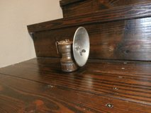 Antique brass coal miner's hat lamp/lantern in Cleveland, Texas