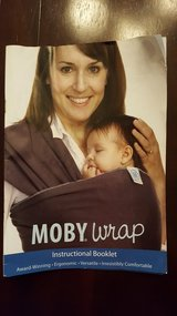chocolate brown moby wrap reduced in Houston, Texas