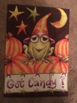 Halloween Garden Flag in Beaufort, South Carolina
