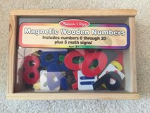 Melissa and Doug Magnetic Wooden Numbers in St. Charles, Illinois