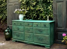 Fabulous Shabby Chic Sideboard Chest Of Drawers Dresser Cabinet. Beautiful Farmhouse Piece One O... in Ramstein, Germany