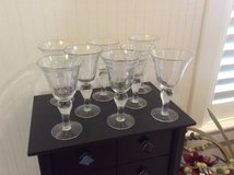 8 Wine/Water Glasses in Beaufort, South Carolina