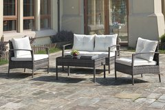 !!NEW!! URBAN WICKER PATIO CONTEMPORARY SET WITH CUSHIONS!! NEW!! in Camp Pendleton, California