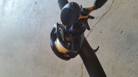 Mega cast MCX10HE rod and reel in Fort Riley, Kansas