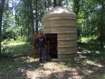 fiberglass deer stand storage shed in Houston, Texas
