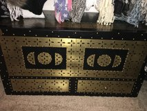 Black and gold trunk in MacDill AFB, FL