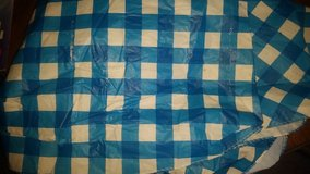 blue tablecloth in Oceanside, California
