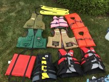 Life vests/preservers in Naperville, Illinois
