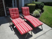 Outdoor Lounge Chairs with Cushions in Virginia Beach, Virginia