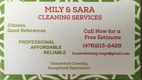 Cleaning Services in Macon, Georgia