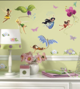 Disney Fairies Peel And Stick Wall Decals in Naperville, Illinois