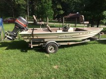 1985 16ft Cajun Special bass boat in Houston, Texas