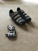 Cycling shoes and campus pedals in St. Charles, Illinois