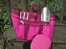 new garden tote,trowel,knee pads,cultivator in Glendale Heights, Illinois