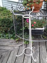 Vintage iron  plant stand in Westmont, Illinois