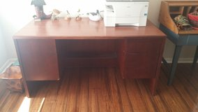 """2 Executive desks By """"Wood Design of French Lick, Indiana in CyFair, Texas"""