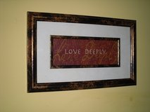 "16x10 ""love deeply"" in Glendale Heights, Illinois"