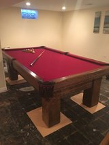 Brunswick 8 Foot Pool Table in Glendale Heights, Illinois