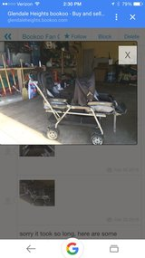 Peg Perego Double Stroller in Bartlett, Illinois
