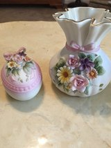 Hand-Painted Vase & Egg Decor in Fort Campbell, Kentucky