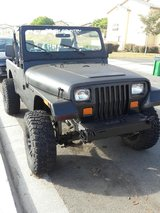 Jeep Wrangler in Camp Pendleton, California