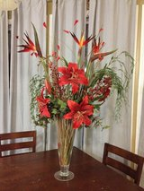 Exotic Red Lily Flower Arangement in Beaufort, South Carolina