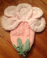 Custom made flower stroller bunting like a JJ Cole Bundle Me in Aurora, Illinois
