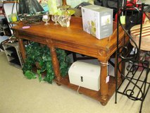 Antique Oak Sideboard/ Table (1594-2475) in Camp Lejeune, North Carolina