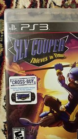 Ps3 ps vita sly cooper in Fort Irwin, California