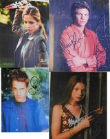 12 Signed original autographs of Buffy The Vampire Slayer cast with COA in Ramstein, Germany