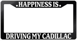 License Plate Frame - Cadillac in Kingwood, Texas