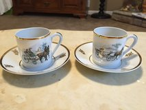 French Limoges Teacups & Saucers in Fort Campbell, Kentucky