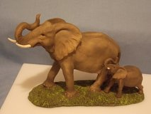 MOTHER & BABY ELEPHANTS -- NEW in Sioux City, Iowa
