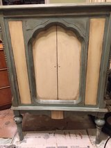 Solid wood Shabby Chic Painted Cabinet in Schaumburg, Illinois