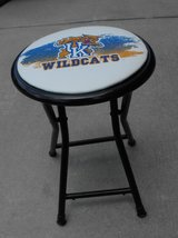 LIKE NEW PORTABLE KENTUCKY WILDCATS FOLDING STOOL in Beaufort, South Carolina