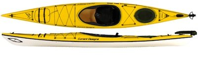 Kayak - 2012 Current Designs 15 foot Vision 150 Kayak with Accessories in Stuttgart, GE