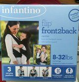Infantino Flip Front 2 Back Carrier in Moody AFB, Georgia