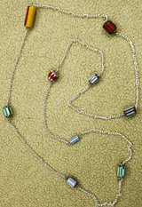 Long Necklace with Multicolor Beads in Kingwood, Texas
