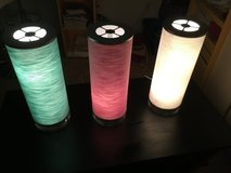 3 Table lamps in Alamogordo, New Mexico