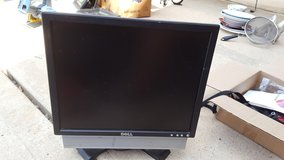 "15"" Dell Color Flat Screen Monitor w HD stereo speakers in Houston, Texas"