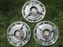'63 - '64 Chevy SS Hubcaps - 3 available in Lockport, Illinois