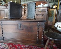 Beautiful antique chest in Spangdahlem, Germany