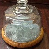 Cornwall Cheese Tray With Dome Lid in Kingwood, Texas