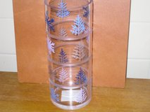 "10"" glass pillar candle holder in Batavia, Illinois"