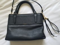 Coach black pebbled leather purse in Fairfield, California